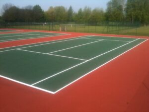 Tennis Court Services Rhiwsaeson